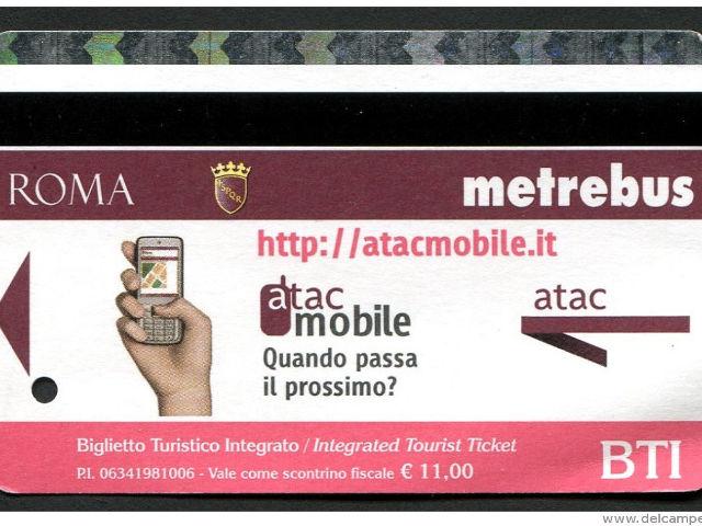 Roma - Billetes y abonos