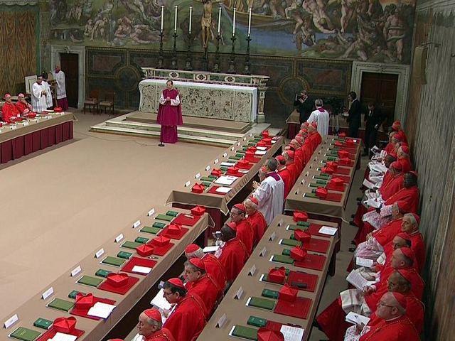 Roma - Capilla Sixtina - Conclave