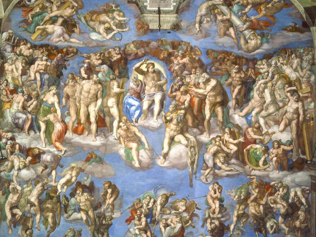Roma - Capilla Sixtina - El Juicio Final