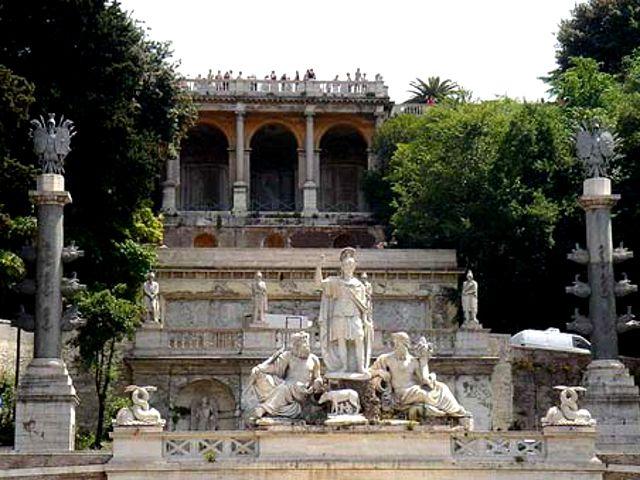 Roma - Colina de Pincio