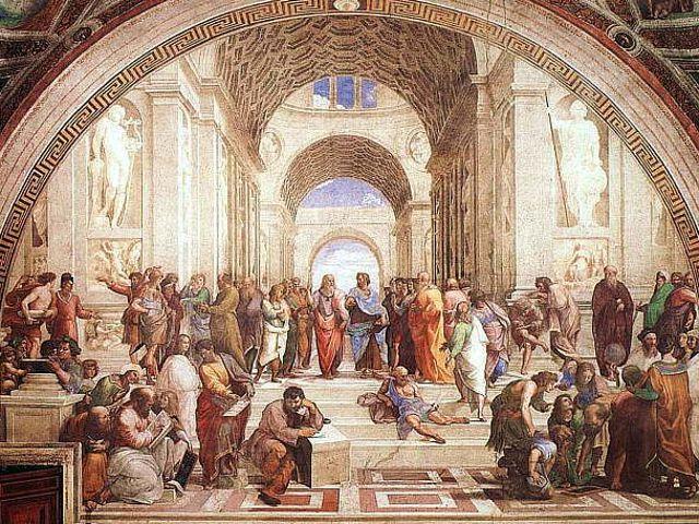 Roma - Escuela de Atenas