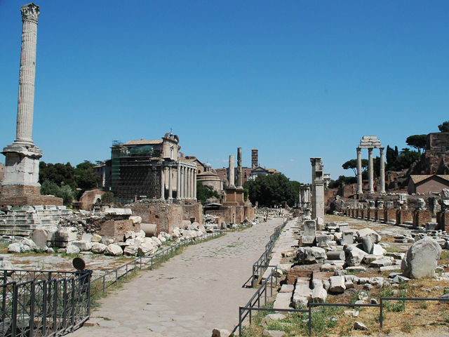 Roma - Foro Romano - Via Sacra