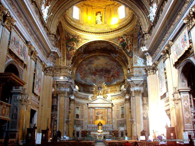 Roma - Iglesia del Gesu - Interior