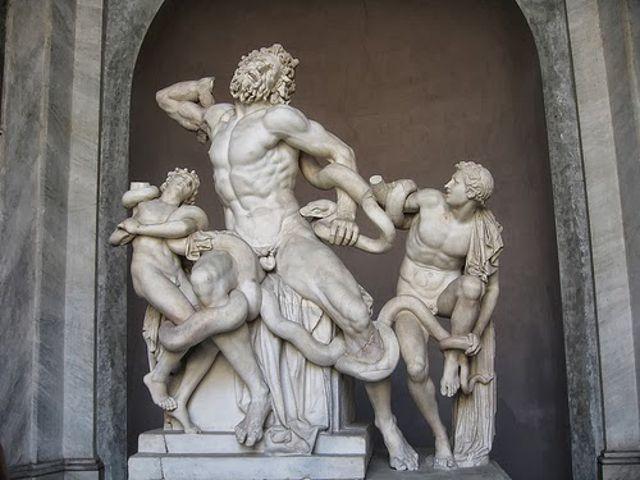 Roma - Museos Vaticanos - Laocoonte y sus Hijos