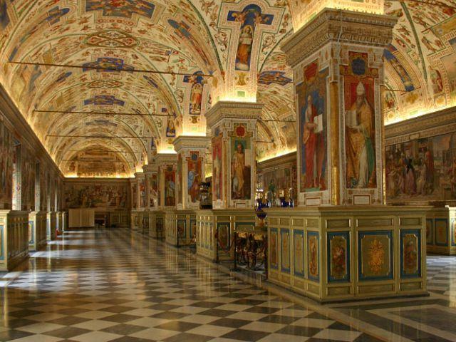 Roma - Museos Vaticanos - Mapas Cartográficos