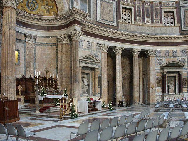 Roma - Panteon Agripa - Interior
