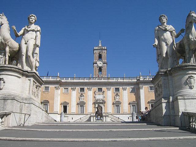Qué ver en la Plaza del Campidoglio, la Colina Sagrada