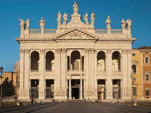 Roma - San Juan de Letran - Fachada