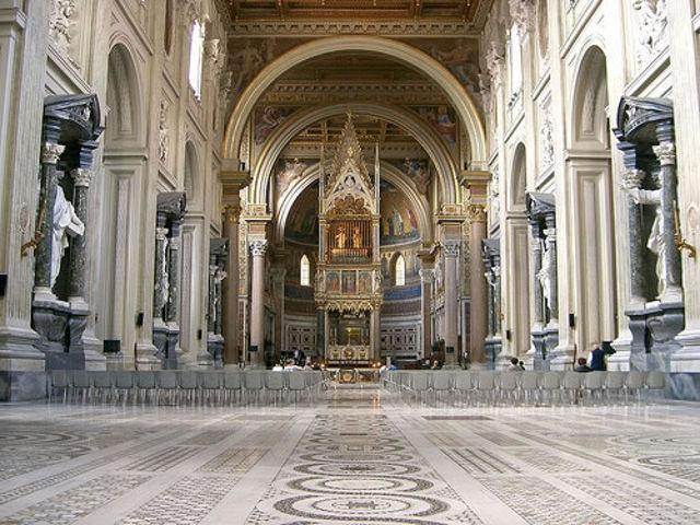 Roma - San Juan de Letran - Interior