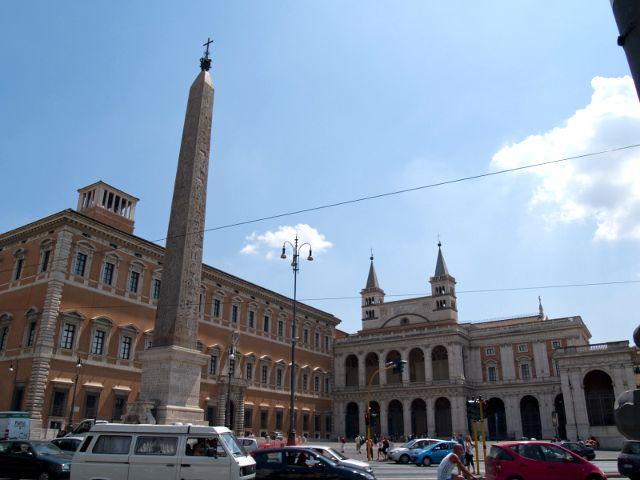 Roma - San Juan de Letran - Obelisco