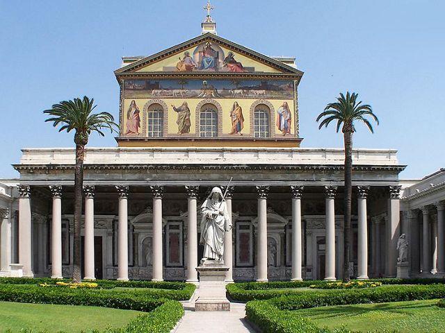 Roma - San Pablo Extramuros - Fachada