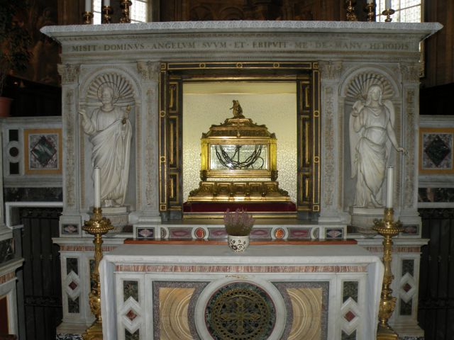 Roma - San Pietro in Vincoli - Cadenas