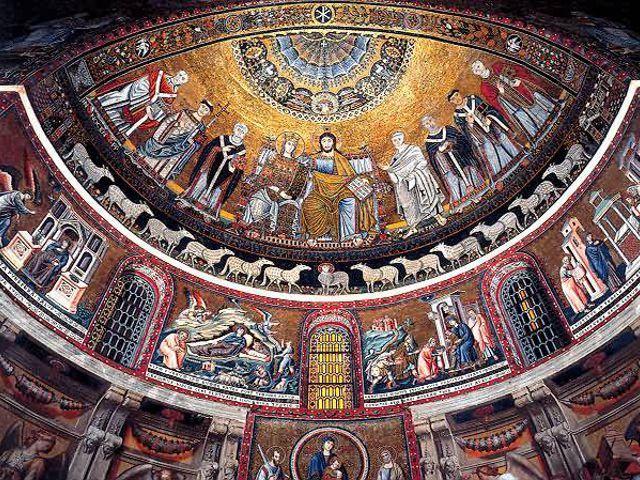 Roma - Santa Maria Trastevere - Abside