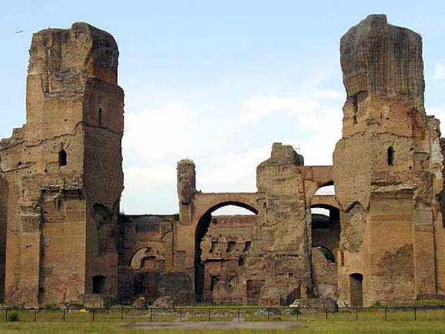 Las Termas de Caracalla, las mejor conservadas de Roma