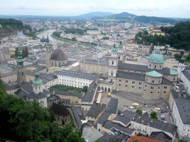 Salzburgo - Desde la Fortaleza