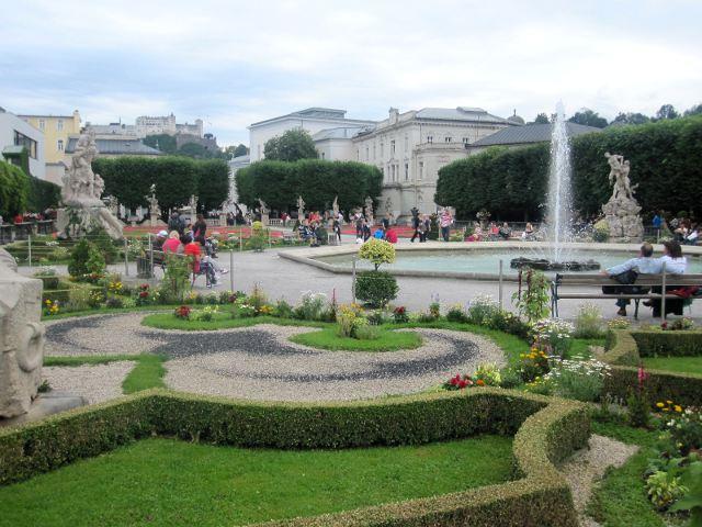 visitar Salzburgo - Jardines de Mirabell