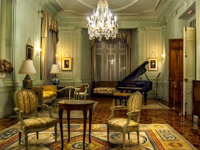 Santander - Palacio Magdalena - Interior