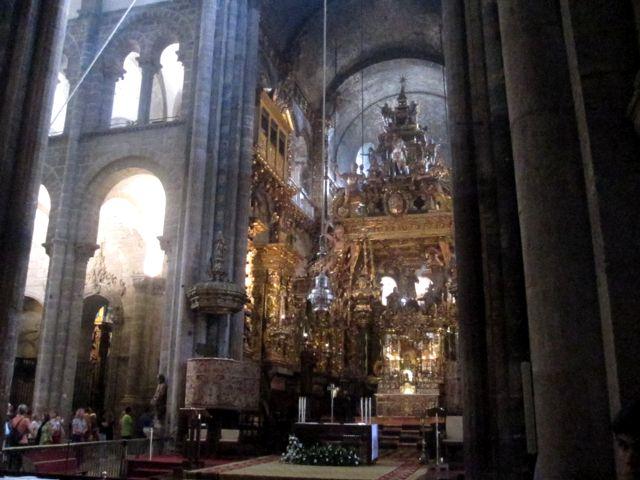 Santiago de Compostela - Catedral - Capilla Mayor