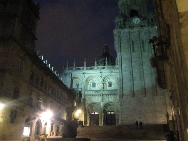 Santiago de Compostela - Catedral de noche
