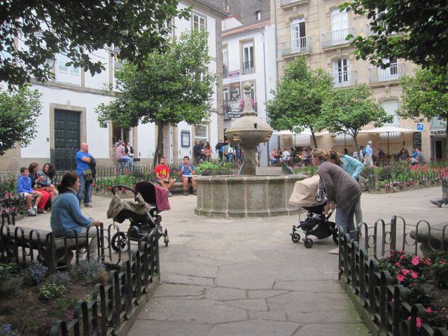 Santiago de Compostela - Plaza de Fonseca