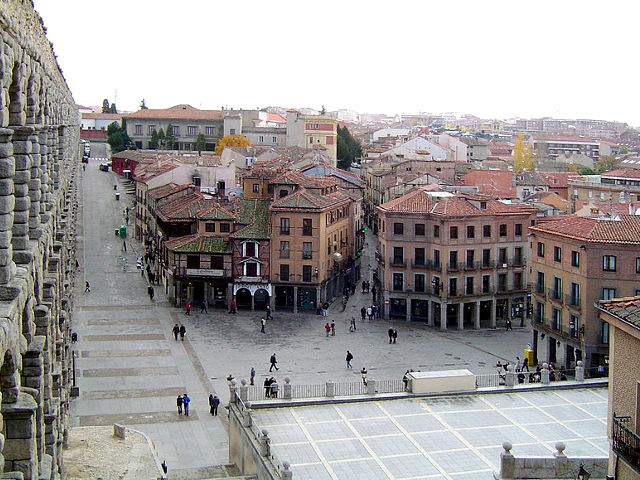 Segovia - Plaza Azoguejo