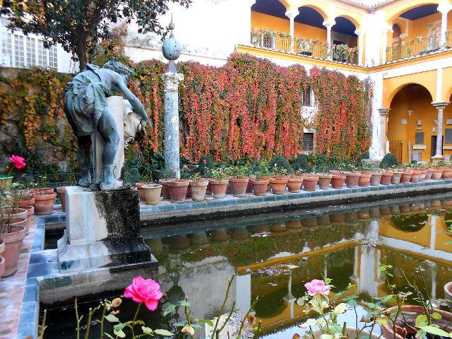 Sevilla - Casa Pilatos - Jardines