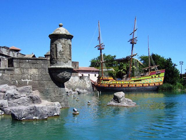 Sevilla - Isla Mágica - Piratas