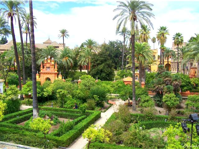 Sevilla - Reales Alcázares- Jardines