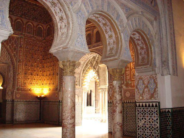 Sevilla - Reales Alcázares - Palacio Mudéjar