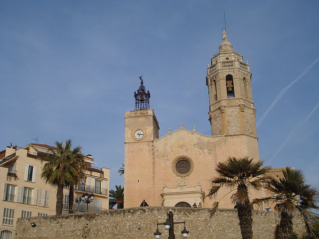 Sitges - Iglesia San Bartolome y Santa Tecla