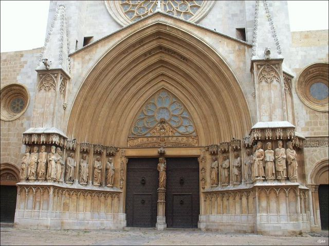 Tarragona - Catedral - Puerta Principal