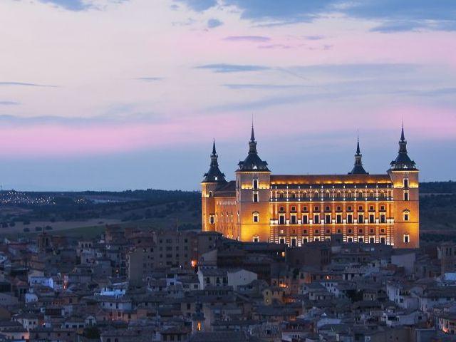 Toledo en dos dias - Alcazar - Noche