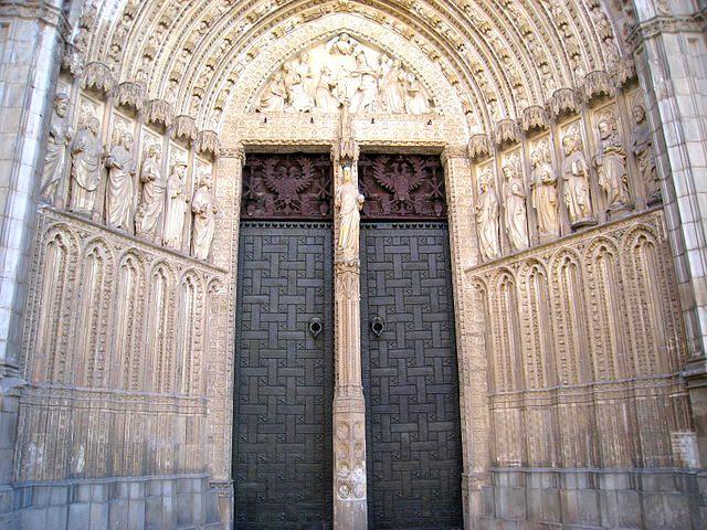 Toledo - Catedral - Puerta del Perdon