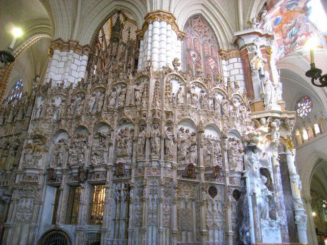 Toledo - Catedral - Transparente