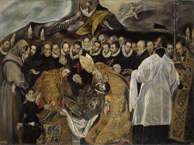 Visitar Toledo en dos dias - El Greco - Entierro Conde Orgaz