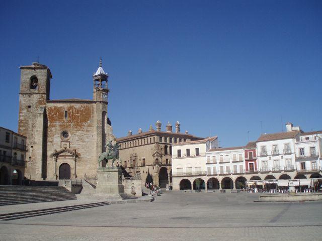 Visitar Extremadura - Trujillo - Plaza Mayor