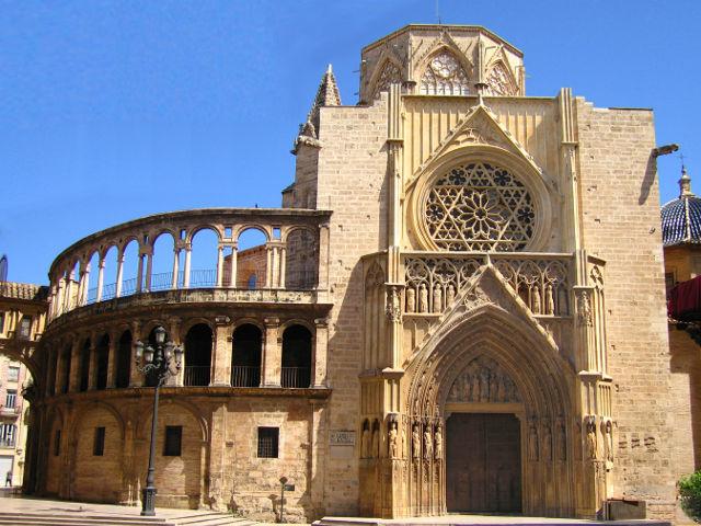 Valencia - Catedral - Puerta de los Apostoles