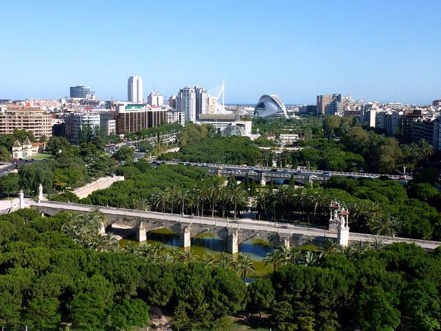 Valencia - Jardines Turia