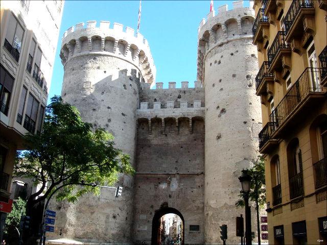 Las Torres de Serranos y las Torres de Quart, dos lugares emblemáticos de Valencia