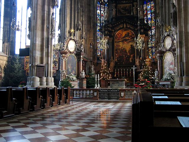 Viena - Catedral de San Esteban - Interior