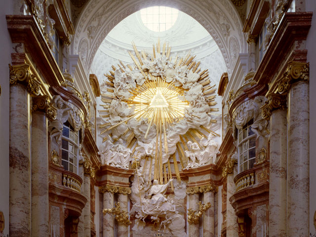 Viena - Iglesia San Carlos Borromeo - Interior