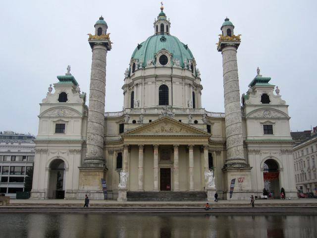 Viena - Iglesia de San Carlos Borromeo
