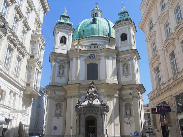 La Iglesia de San Pedro, lo mejor del barroco de Viena