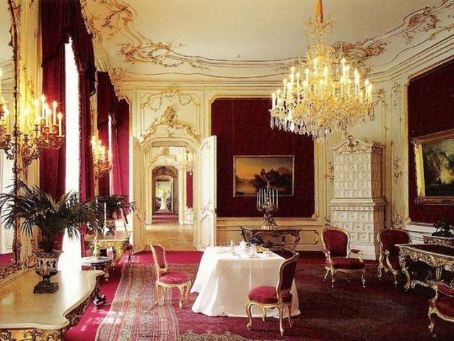 Viena - Palacio Hofburg interior