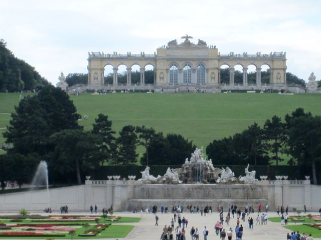 Viena - Palacio Schonbrunn - La Glorieta