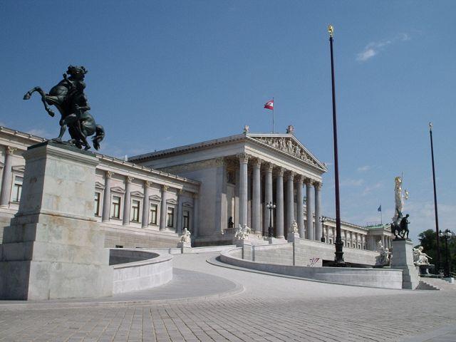 Viena - Parlamento