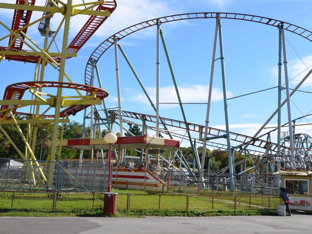 Viena - Prater - Parque Atracciones