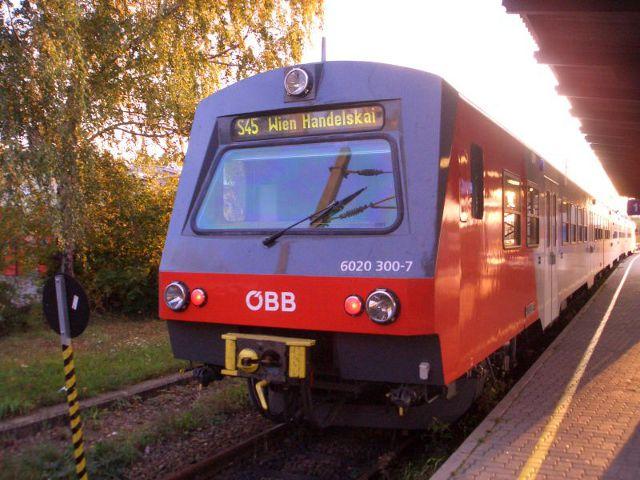 Viena - Tren S Bahn